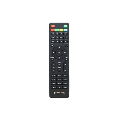 Renegade TV Media Box extra remote